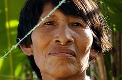 Belle Femme Kuna, Colombie