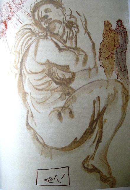 Dante Alighiere, PURGATORIO, Canto XIX