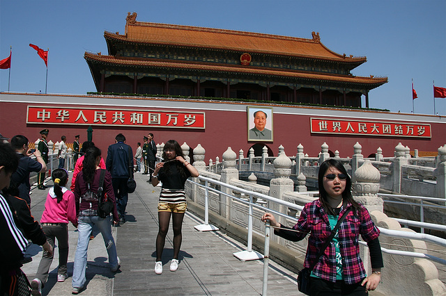 Jolie touriste