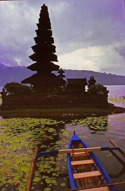 Pura Ulun Danu Temple on Lake Bratan