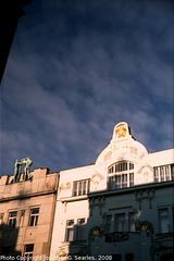 Sunlight On Buildings, Na Prikope, Prague, CZ, 2008