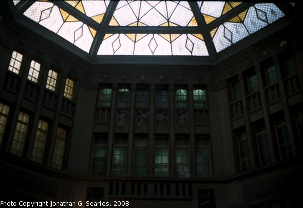 Palac Koruna Interior, Picture 2, Prague, CZ, 2008