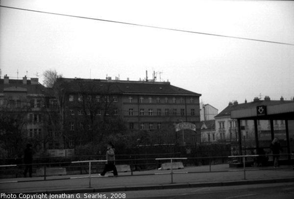 Old Trziste, Hradcanska, B&W Version, Prague, CZ, 2008