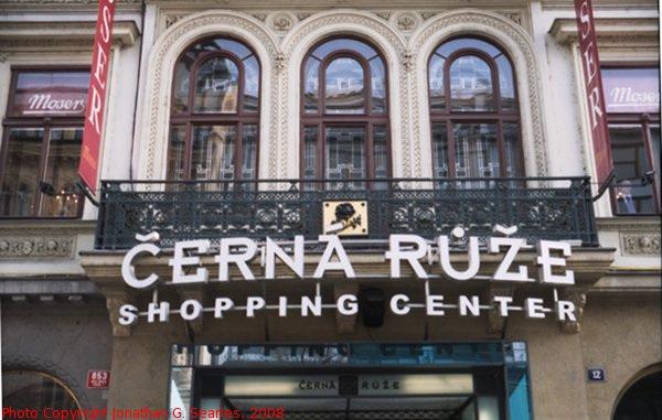 Cerna Ruze Shopping Center, Na Prikope, Prague, CZ, 2008