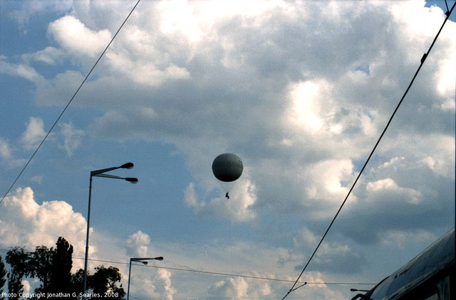 Balloon Over Prague, CZ, 2008