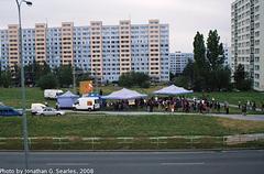 Outdoor Football (Soccer) Party In Sidliste Haje, Prague, CZ, 2008