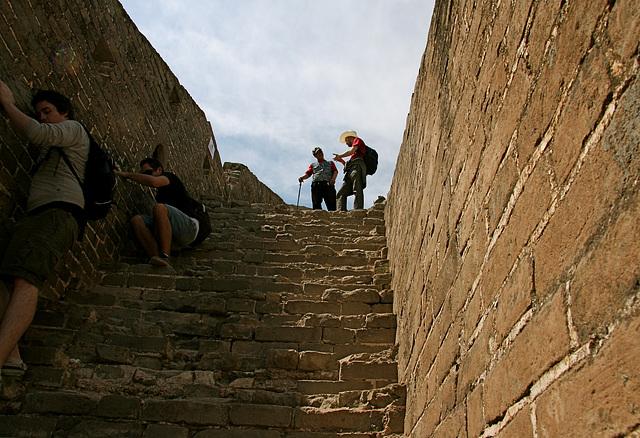 Great Wall - descente