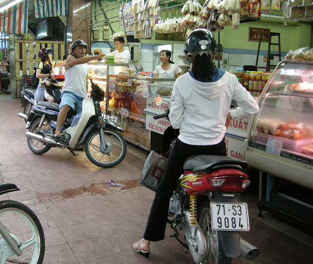 motorisierter Einkauf