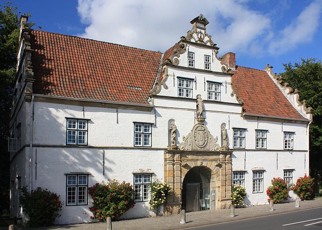 Renaissance Torhaus von Schloss Husum
