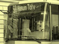 5A Husum Torv yellow danish bus -  Copenhagen /   October 19th 2008 - À l'ancienne / Vintage