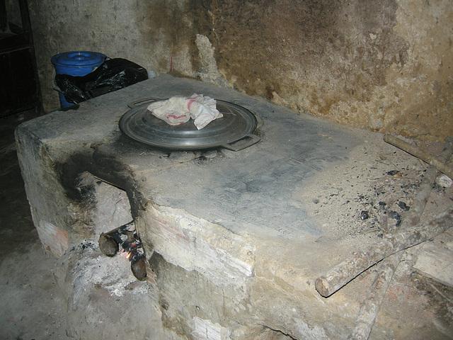 unterirdische Küche