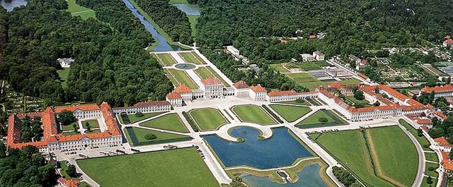 Luftbild - Nymphenburg (2)
