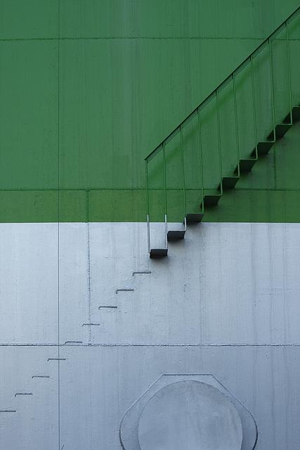 halbe Treppe / half stair