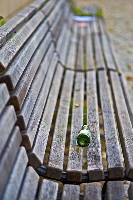 Resting bottle