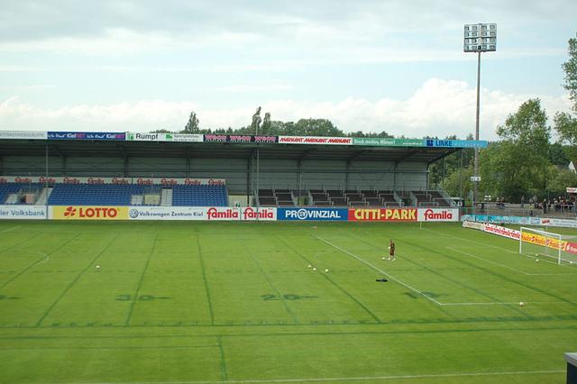Relegatiosspiel Kiel II- St. Pauli II04