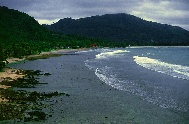 Phuket Patong beach 1987