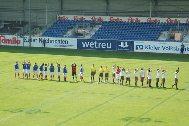 Relegatiosspiel Kiel II- St. Pauli II09