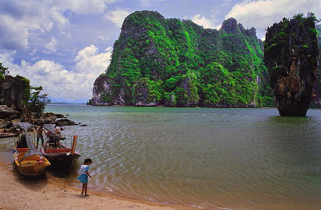 Khao Phing Kan and Koh Tapu the James Bond Island 1987