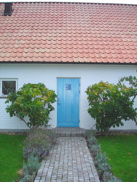 La maison à la porte bleue - Blue door house -  Båstad /  Suède - Sweden.  21-10-08