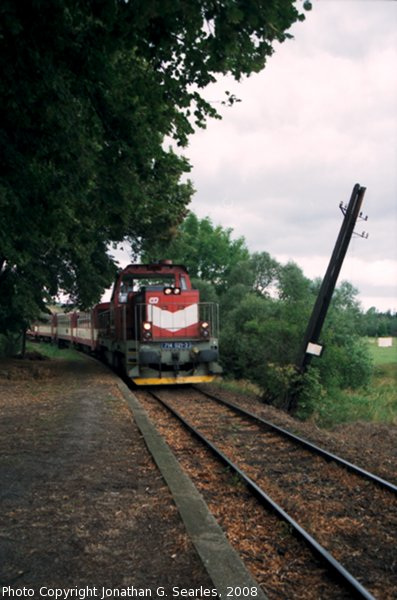 CD #714021-3 Arriving at Stara Hut, Picture 2, Bohemia (CZ), 2008