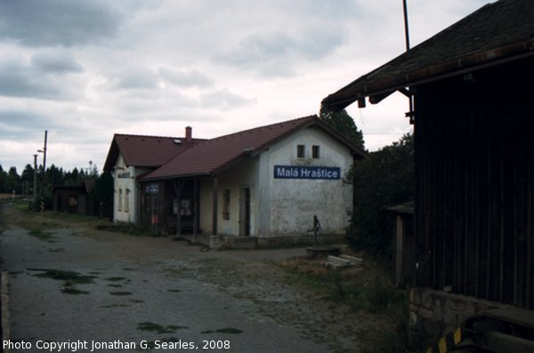 Nadrazi Mala Hrastice, Picture 2, Mala Hrastice, Bohemia (CZ), 2008