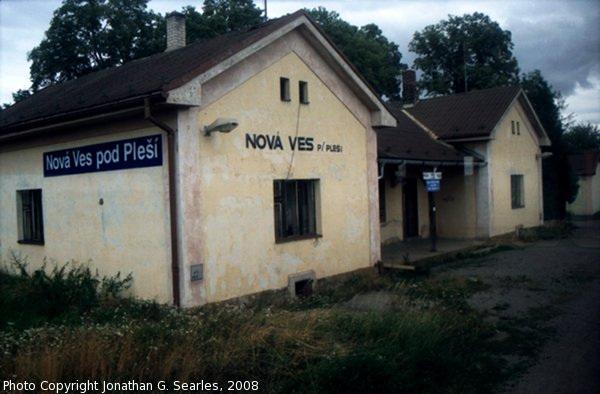 Nadrazi Nova Ves pod Plesi, Nova Ves pod Plesi, Bohemia (CZ), 2008