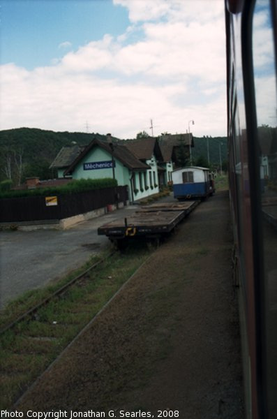 Nadrazi Mechenice, Mechenice, Bohemia (CZ), 2008