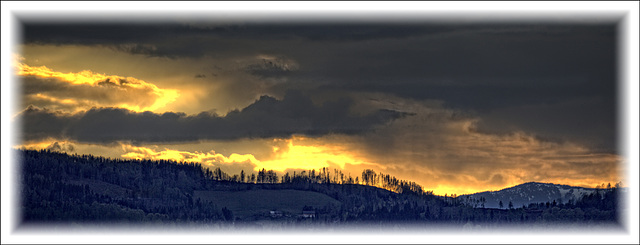 sunset from Graz-Rannach - 2