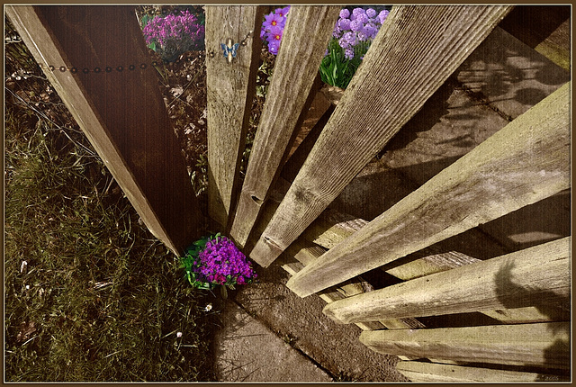 fairytale~garden's gate