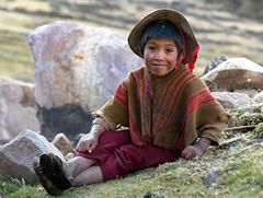 Enfant des Andes