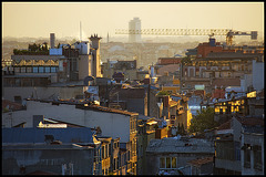 glowing city dust......