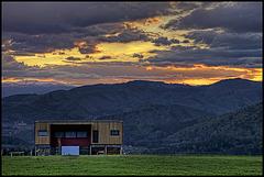 sunset from Graz-Rannach - 3