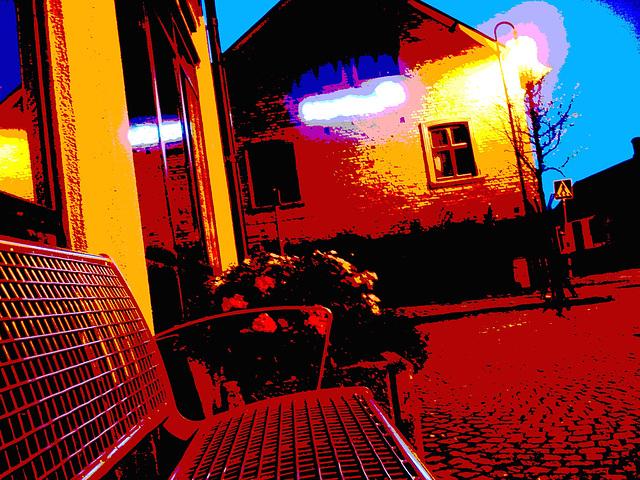 Zone Nordea -  Nordea scenery.  Båstad / Suède - Sweden.   Octobre 2008 - Postérisée