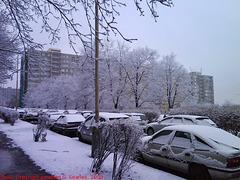 Second Snow in Sidliste Haje, Prague, CZ, 2009