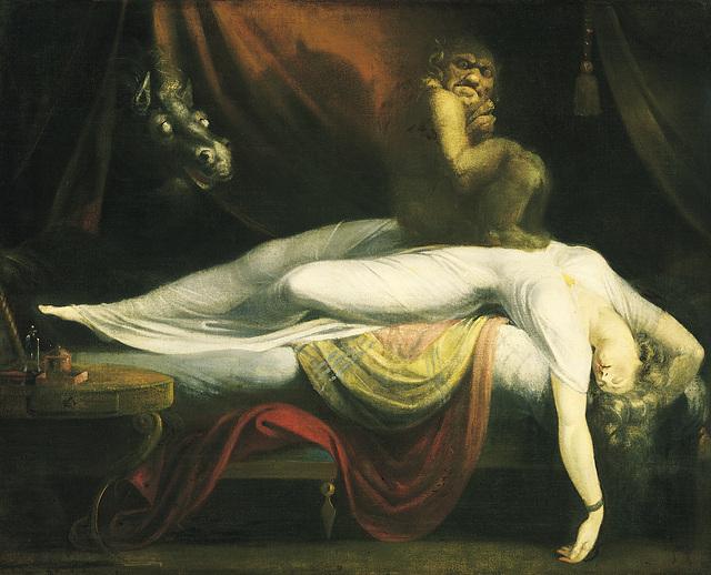 Le Cauchemar, œuvre de Johann Heinrich Füssli