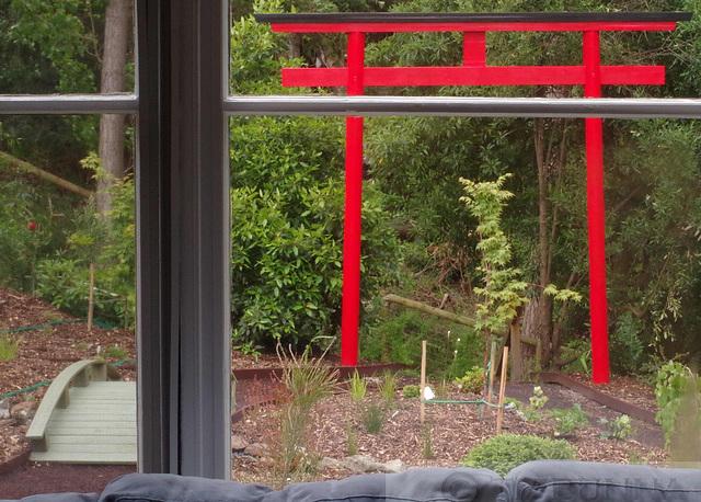 The Garden Through the Window