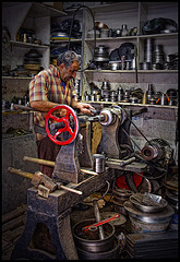 the turners workshop......