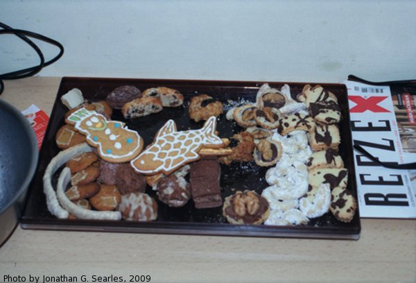 2008 Czech Christmas Cookies, Prague, CZ, 2009