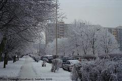 Snow in Sidliste Haje, Picture 5, Prague, CZ, 2009