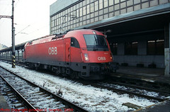 OBB #1216237 at Nadrazi Holesovice, Prague, CZ, 2009