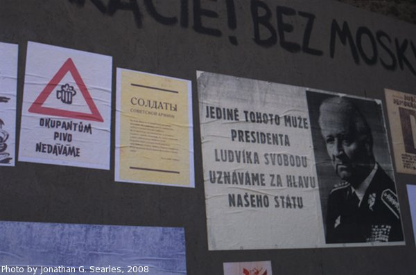 Repro '68 Protest Posters, Prague, CZ, 2008