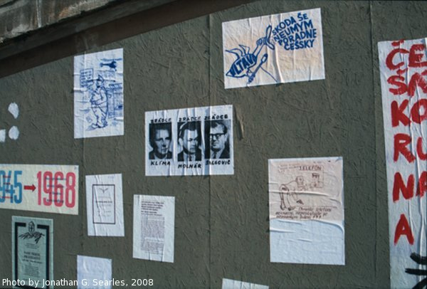 Repro '68 Protest Posters, Picture 3, Prague, CZ, 2008