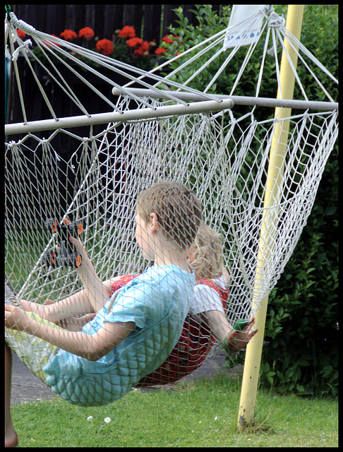 Offline - Twittering in the hammock