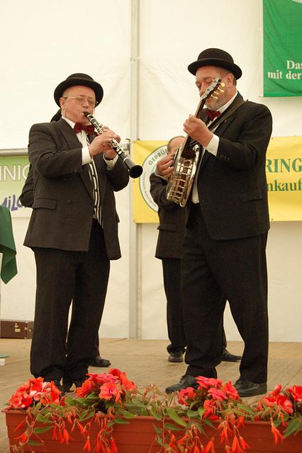 klarneto kaj banjo - Klarinette und Banjo