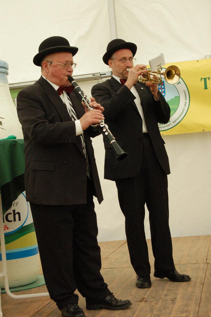 Robert Schreier: klarneto / Klarinette / David Lehwald: trumpeto, Trompete