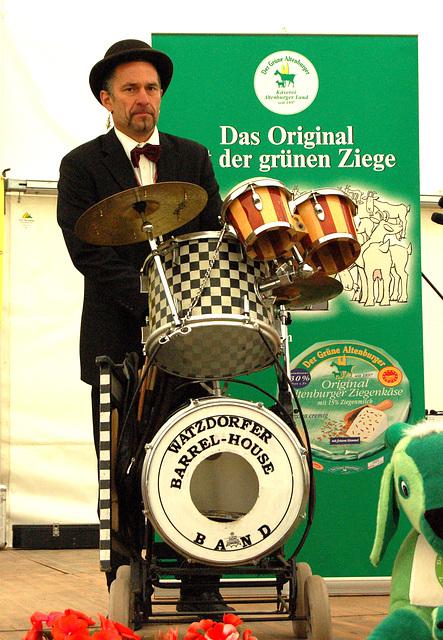 Torsten Friebel: tamburisto, Schlagzeuger
