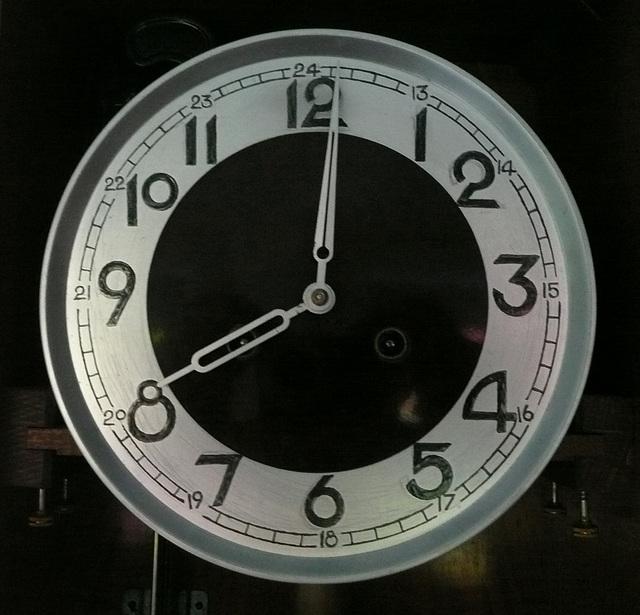 Uhr von 1900