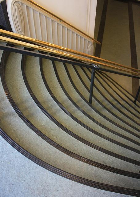 Treppe im Rathaus von Delmenhorst
