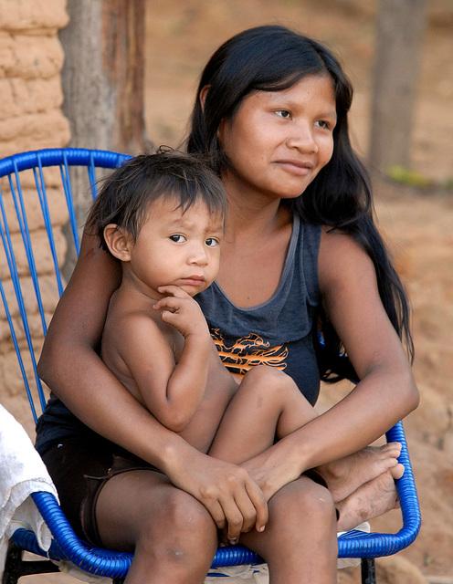 Ethnie Guajajaras, Brésil