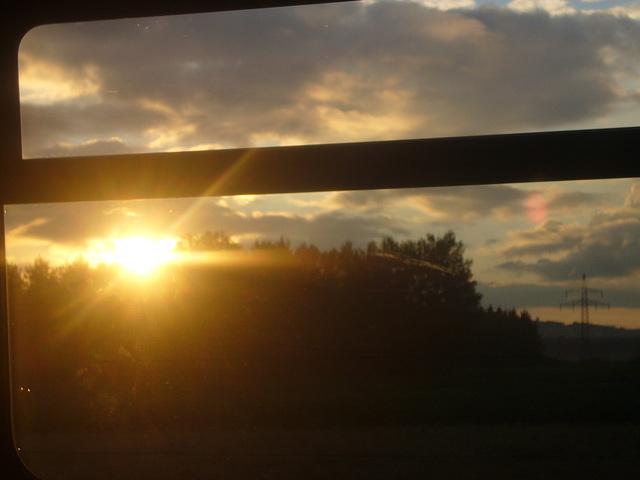 Zugfensterblick